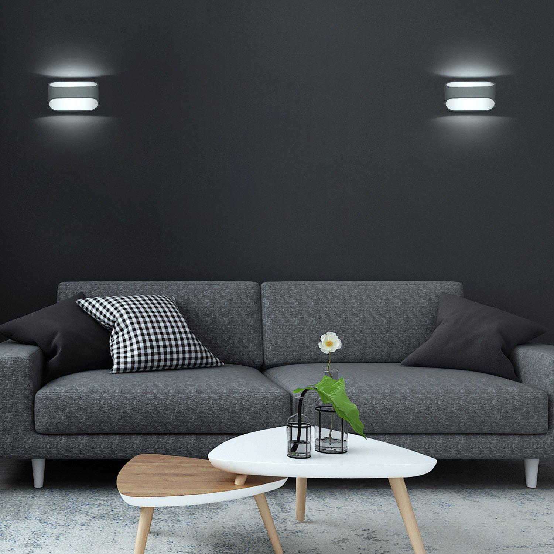 Glighone 5W LED Wandleuchten Innenraum Wandlampe Modern Innen ...