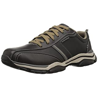 Skechers Men's Relaxed Fit-Rovato-Larion Oxford