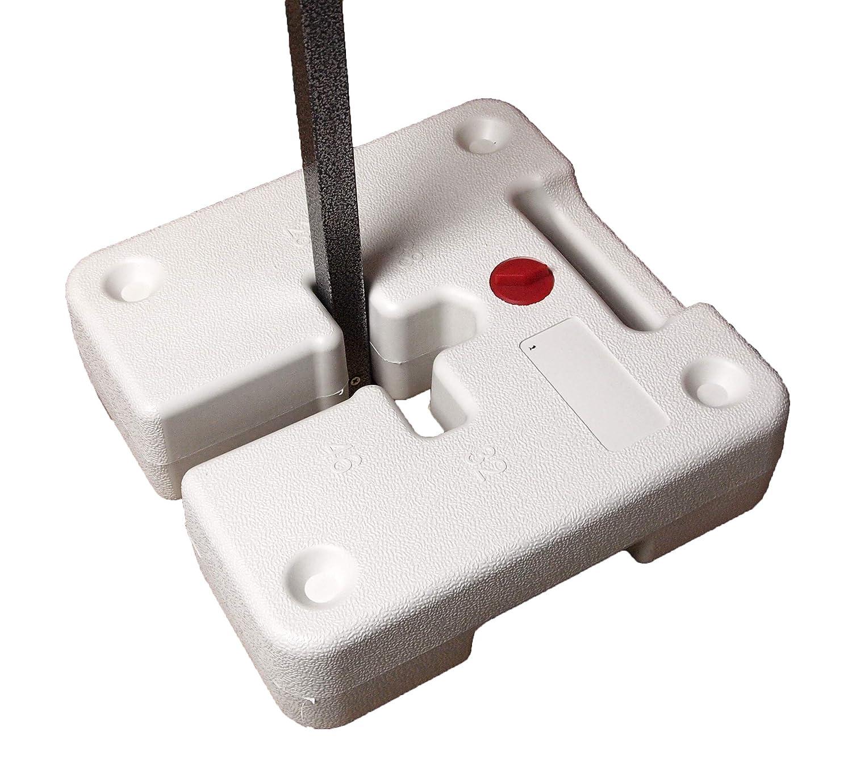 BULHAWK Lot de 4 Galets Robustes 36 kg pour Pieds de Tente Poids pour Pieds de 28 mm 32 mm 38 mm 46 mm
