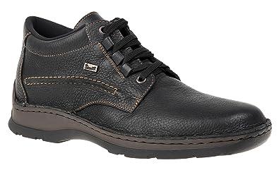 Stiefel Rieker 93113 46 Größe Amazon Art Herren Reno Schwarz U5RO5q