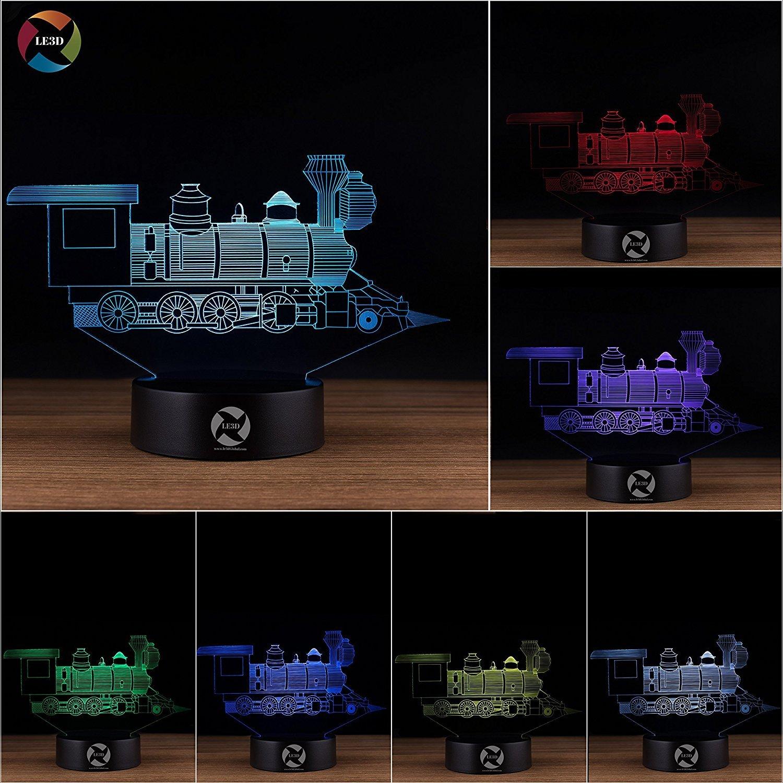 3D ナイトライト B071Z92TZX 10609 Train Train