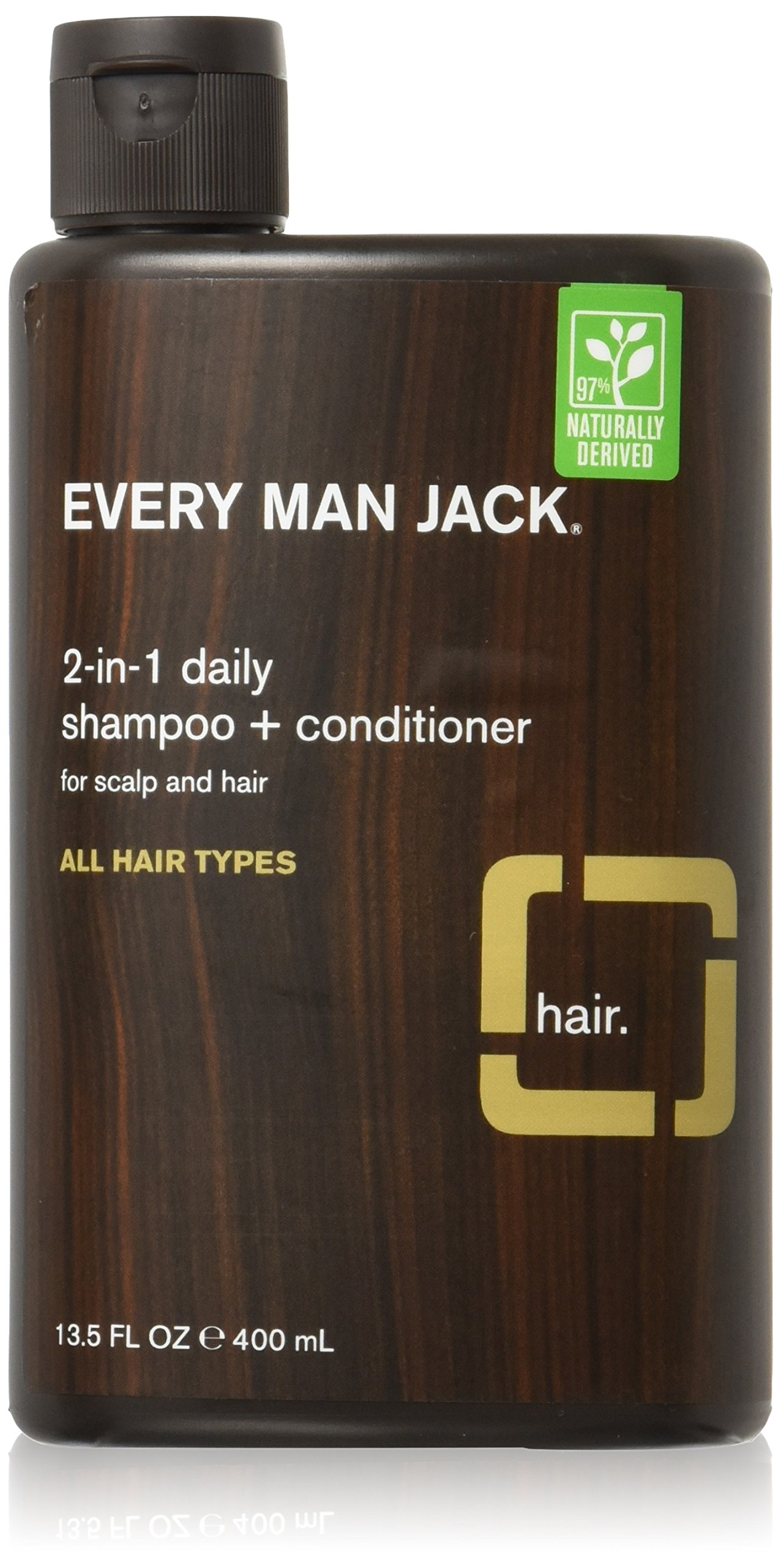 Every Man Jack Body and Face Wash, Sandalwood, 13.5 Fluid Ounce Dermalogica  Skin Smoothing Cream 3-piece Kit