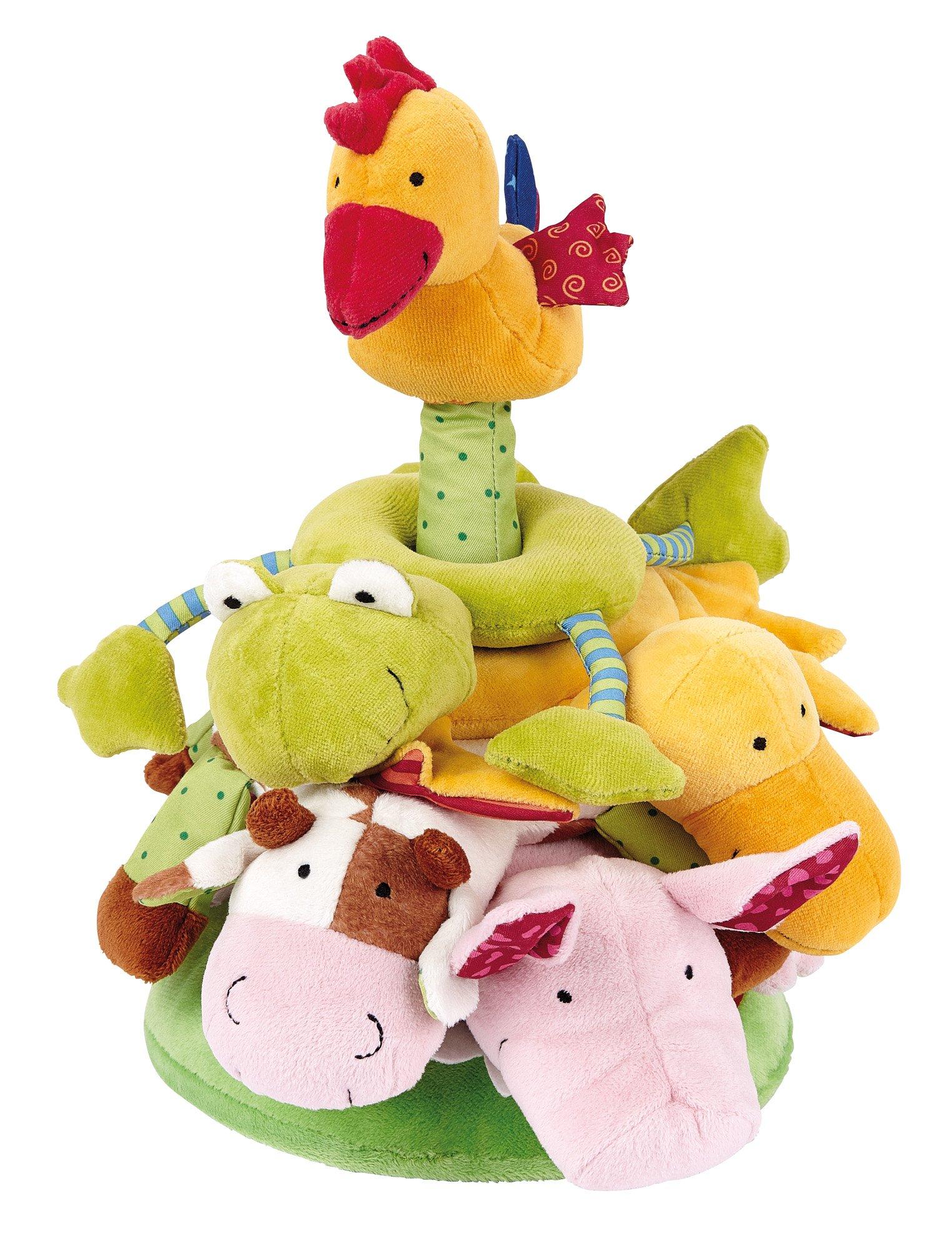 Sigikid Play Q Baby Pile Tower Farm