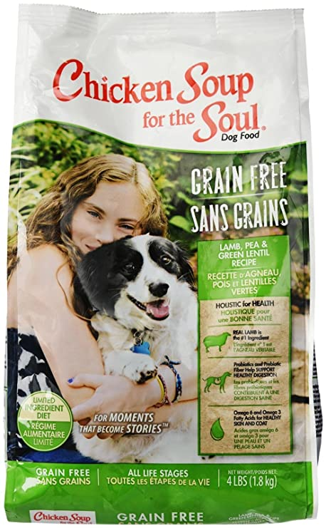 Chicken Soup for the Soul 418215 Grain-Free Lamb and Lentil Pet Food, One