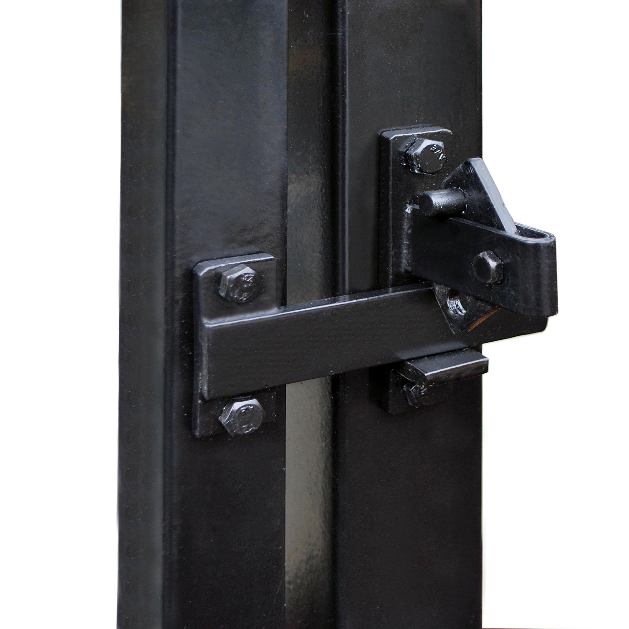 ALEKO LM191 Universal Gate Door Flip Latch