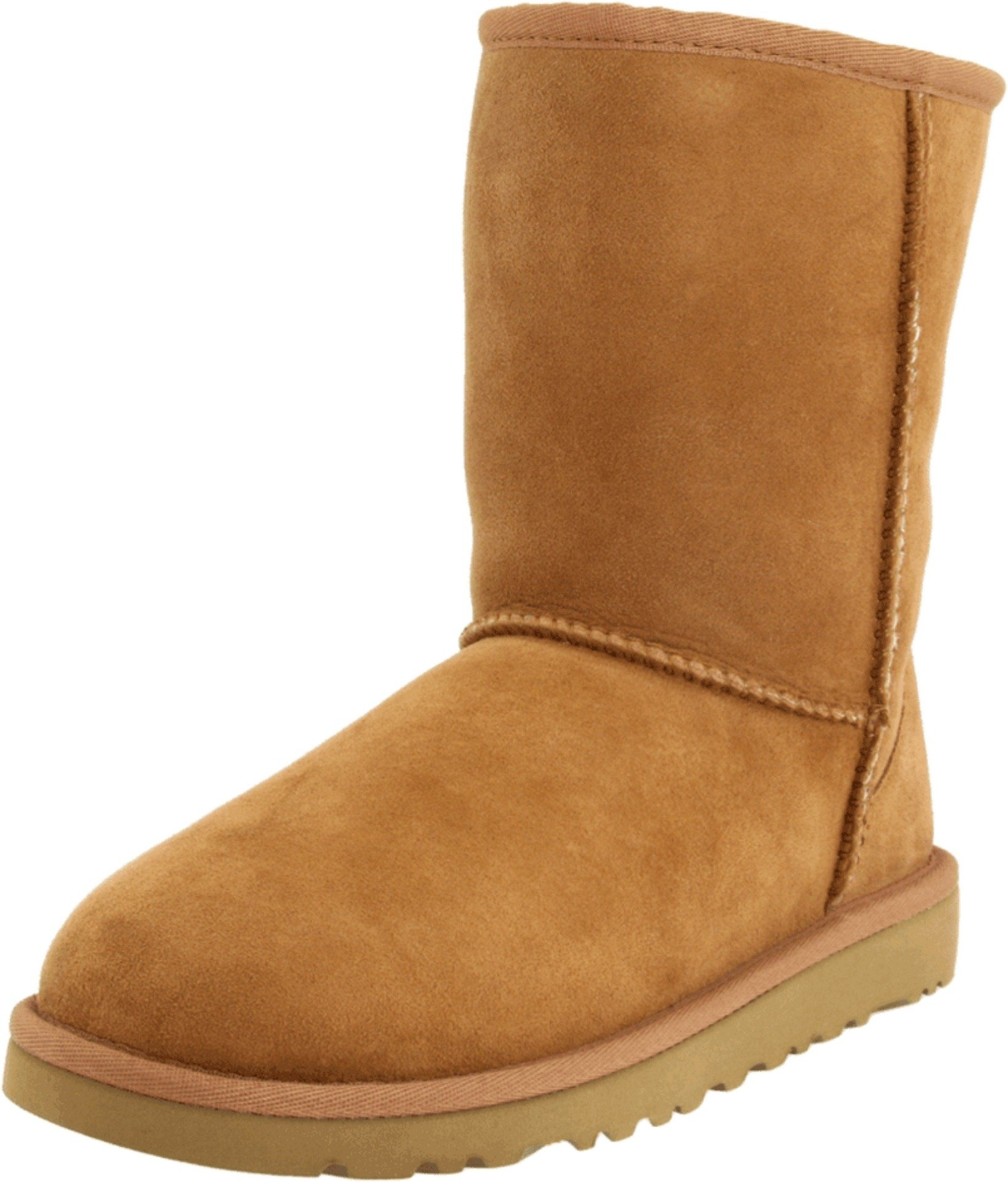 UGG Kids Unisex Classic (Big Kid) Chestnut Boot 6 Big Kid M by UGG