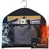 Hanger Diversion Fireproof Safe with Small Fireproof Bag - Hidden Safe Compartment for Home & Travel - Secret Safe for…