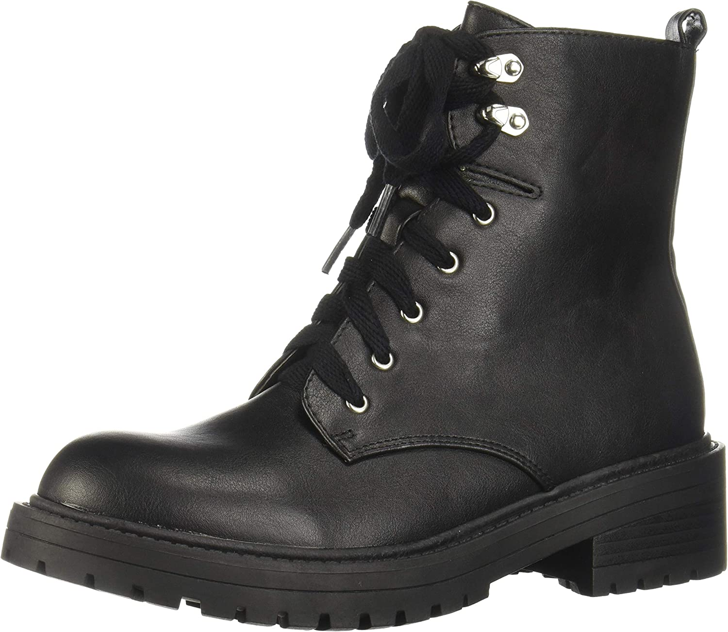 madden girl Alicee Lace up Combat Boots