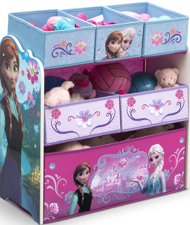 Disney Frozen Regal Kindermöbel Kinderregal Spielzeugkiste Eiskönigin ELSA 84986 Spielwaren Klee