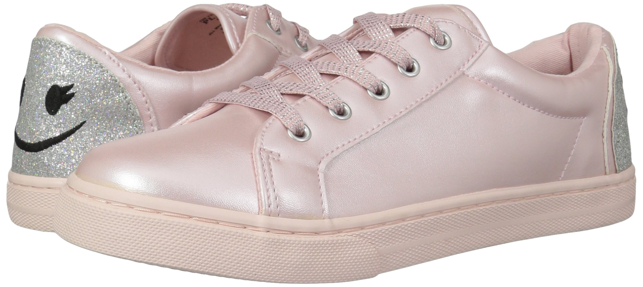 The Children's Place Girls' BG Emoji Sneaker, Pink, Youth 4 Medium US Big Kid by The Children's Place (Image #6)