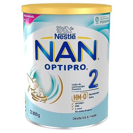 NAN OPTIPRO 2, Leche de continuación para bebé - 800 gr.