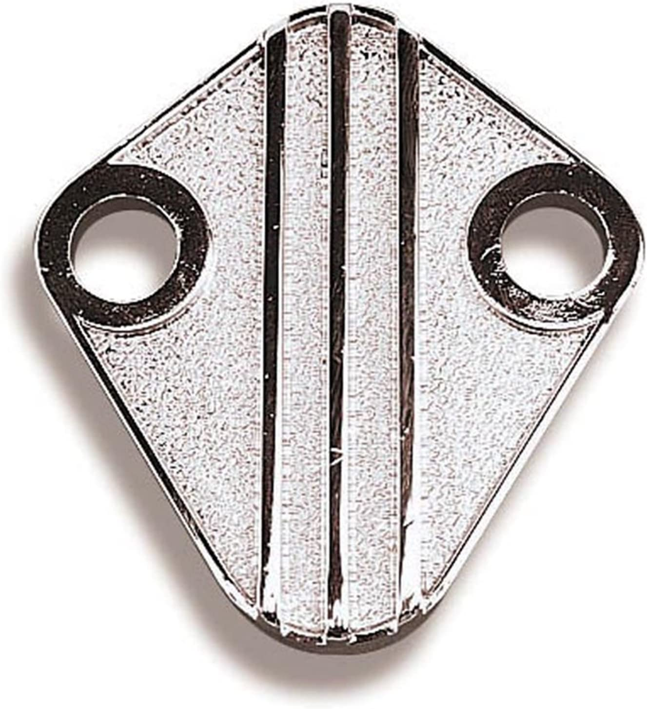 Fuel Pump Block-Off Plate-Mechanical Fuel Pump Mounting Pad Cover Holley 12-813