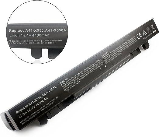 ZJS A41-X550A Laptop Batería para ASUS X450V A450 A550 A450C R510 ...