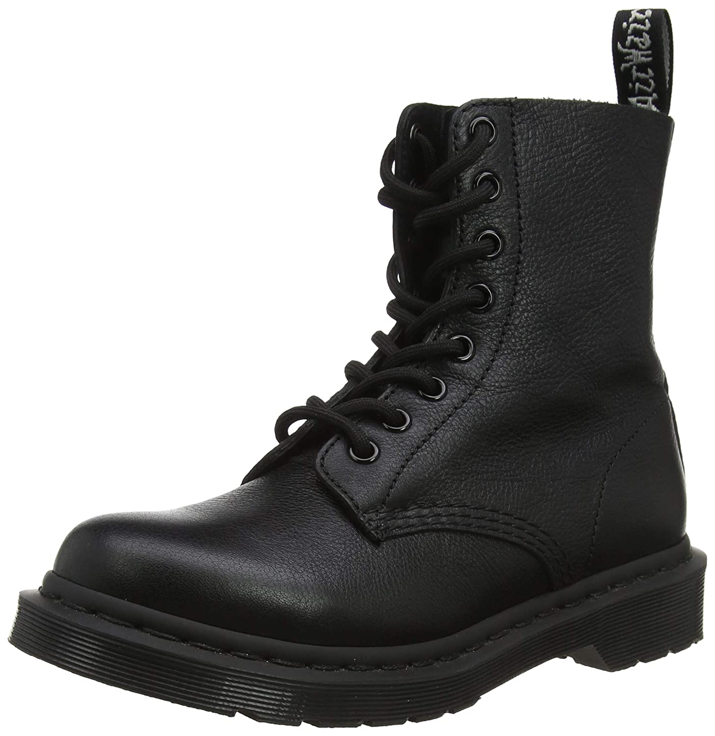 Details about Dr.Martens 1460 8 Eyelet Mono Smooth Black Womens Boots