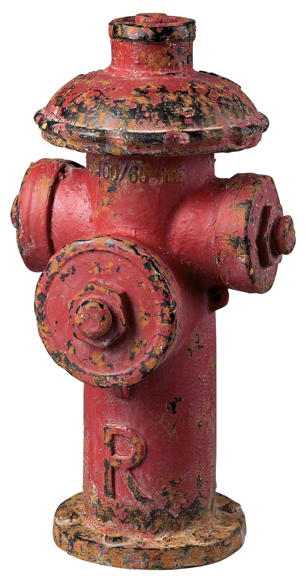 Sterling 129-1025 Composite Red Finish Fire Hydrant Decor, 20 by 11-Inch