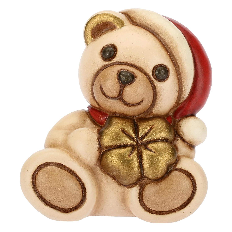 h 4,1 cm Linea I Classici Mini Teddy Portafortuna Ceramica THUN /®