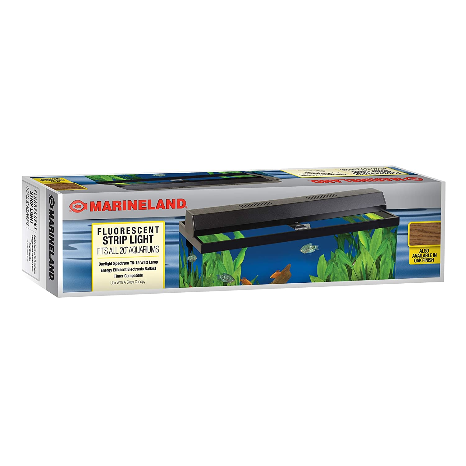 Perfecto Manufacturing APF26202 Marineland Fluorescent Perfect-a-Strip Light Reflector for Aquarium, 20-Inch, Black by Perfecto Manufacturing B006OATB4Q