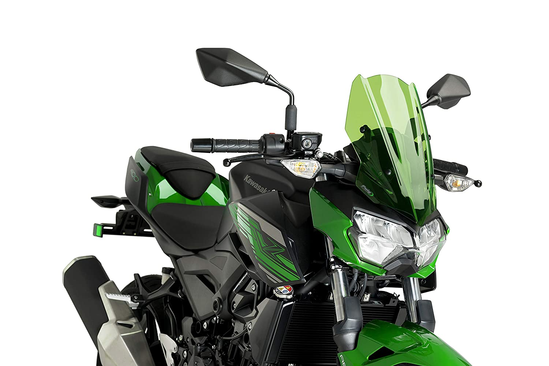 Puig Windshield Naked New Generation Sport 3548V for Kawasaki Z400 19