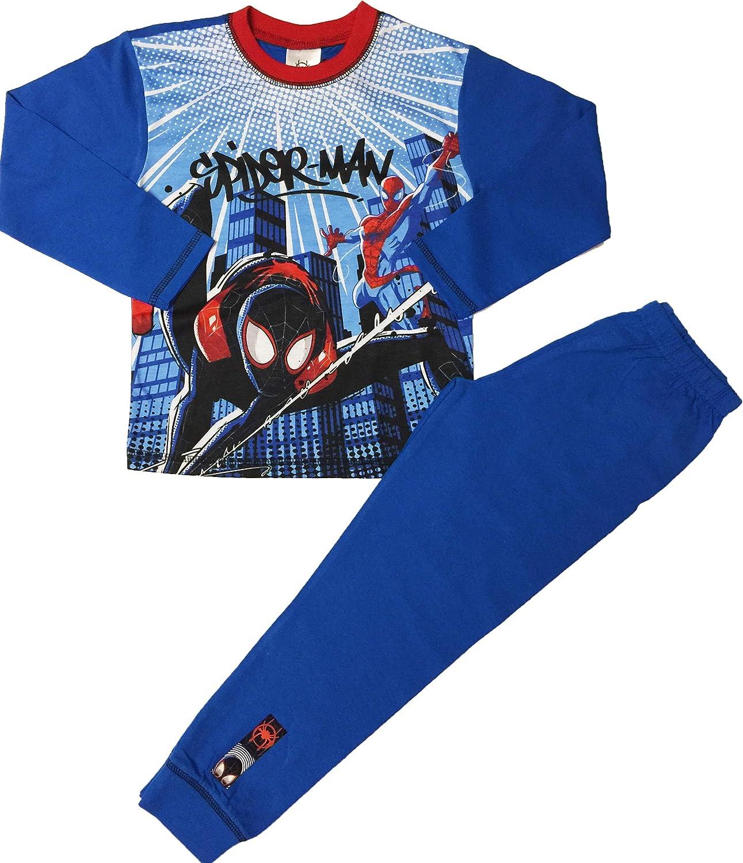 et/à da 4 a 10 Anni Spiderman Pigiama da Bambino Motivo