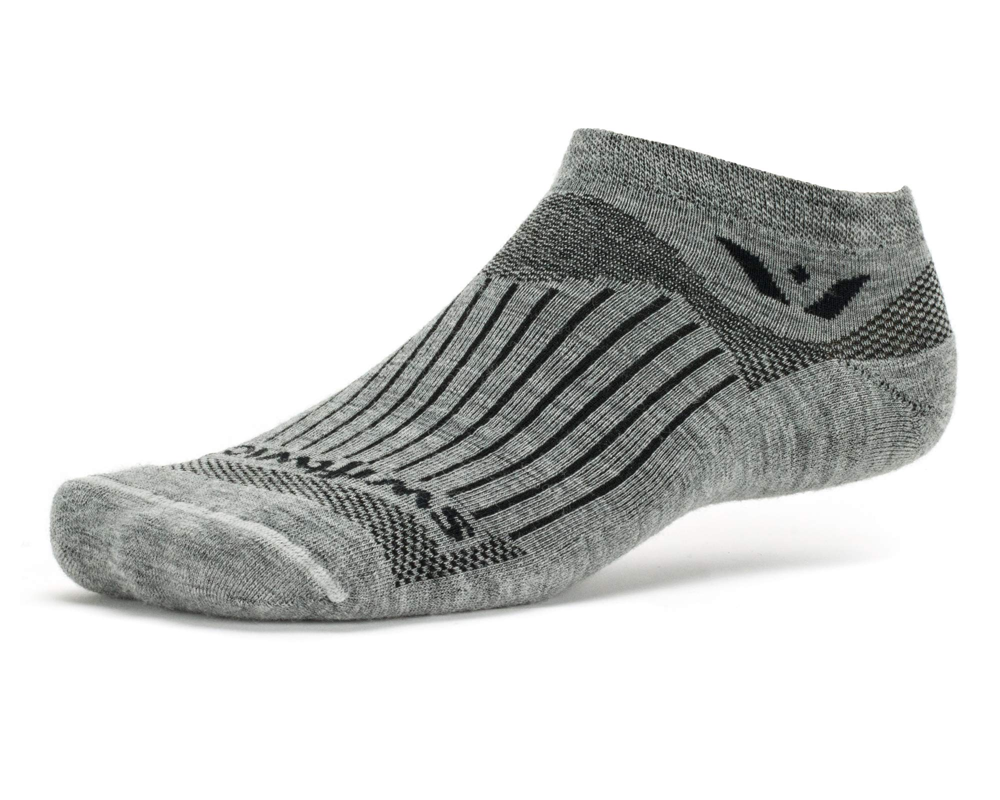 Walking Swiftwick- VIBE ZERO Fast Dry Lightweight Cushioned Socks Built for Trail Running All Day Comfort No Show