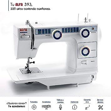 Alfa Modelo 393 TDL-Maquina de Coser: Amazon.es: Hogar