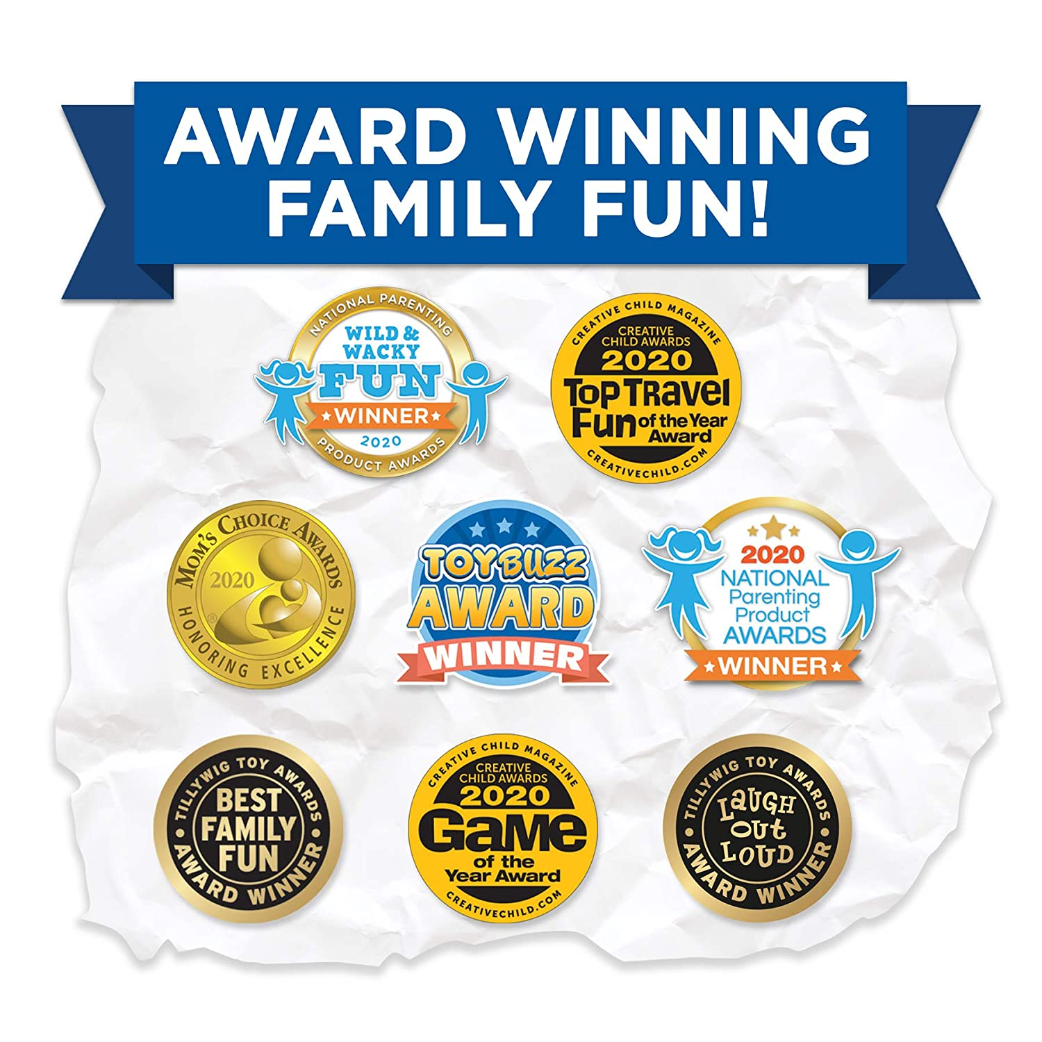 Kids Against Maturity Card Game for Kids and Families Super Fun Hilarious for Family Party Game