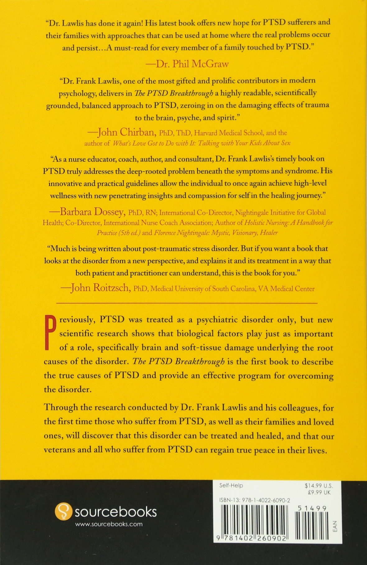 The PTSD Breakthrough: The Revolutionary, Science-Based Compass RESET  Program: Frank Lawlis Dr.: 0760789234880: Amazon.com: Books