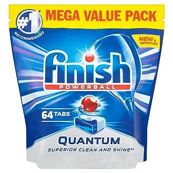 Finish Powerball - Paquete de pastillas para lavavajillas