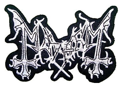 MAYHEM Death Metal Band Logo t Shirt MM28 iron on Patches