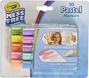 Crayola color wonder mess free 10 pastel markers