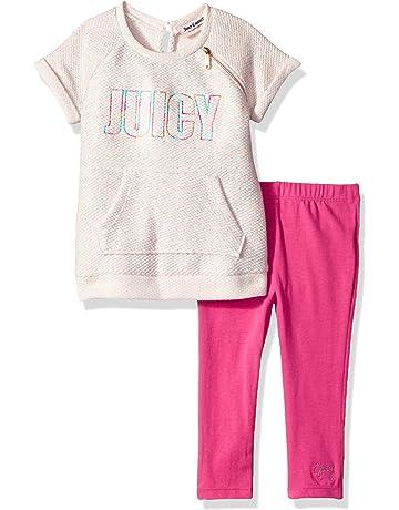 52dcb207da67b Juicy Couture Girls' 2 Pieces Legging Set