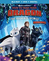 How to Train Your Dragon: The Hidden World  [Blu-ray + DVD + Digital] (Bilingual)