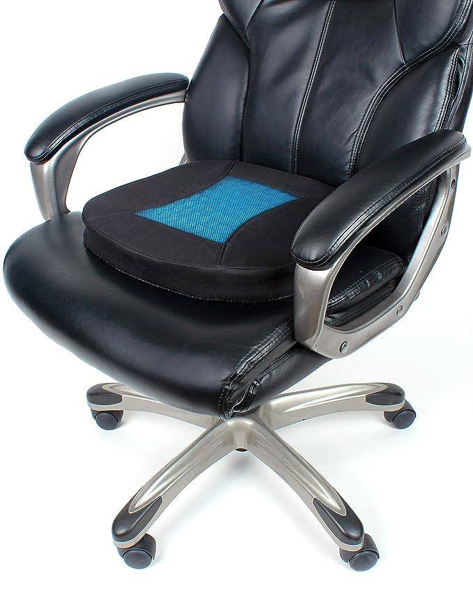 Amazon.com: PharMeDoc Cojín de asiento para silla de oficina ...