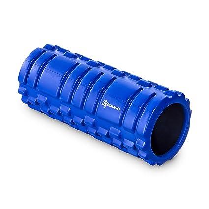 Original Fascia rollo de Life Balance – Incluye S de portatil – Póster con ejercicios y bolsa – lo mejor Masaje dispositivo para entrenamiento de ...