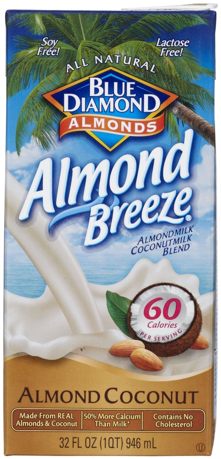 Blue Diamond Almond Breeze - Original Coconut - 32 oz