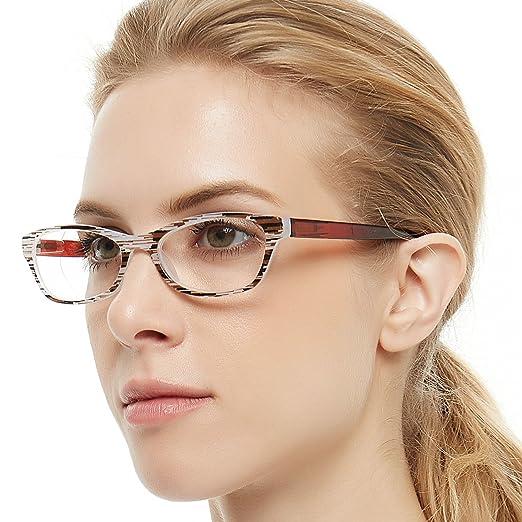49a615f4ee OCCI CHIARI Lightweight Designer Acetate frame Stylish Reading Glasses For  Women