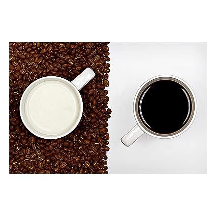 Bilderwelten Pizarra magnética - Coffee with Milk - Formato ...