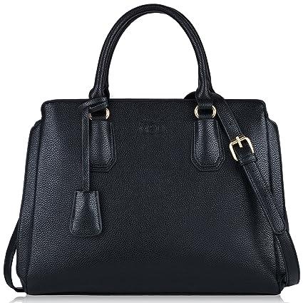 design intemporel 10e2a 006a0 COOFIT Sac à main femme grand sac bandoulière femmes Sac a main Cuir  synthétique Sac femme noir sac portés mian épaule