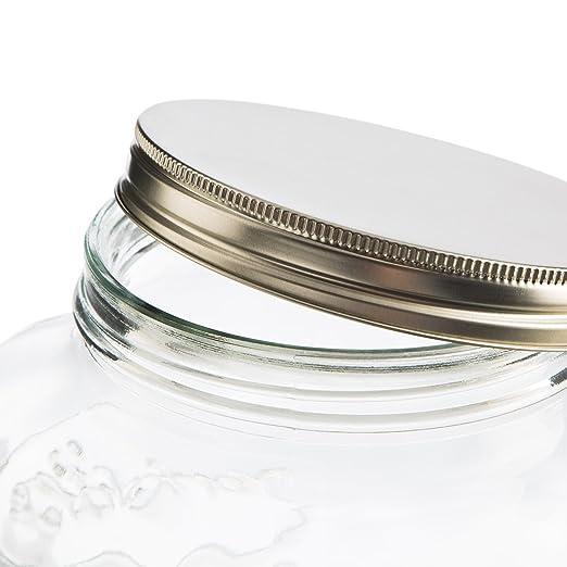 Levivo Dispensador de bebidas de vidrio, con grifo, ideal para el minibar de casa / exclusivo folleto GU Sommerdrinks – selbst gemacht gratis con el ...
