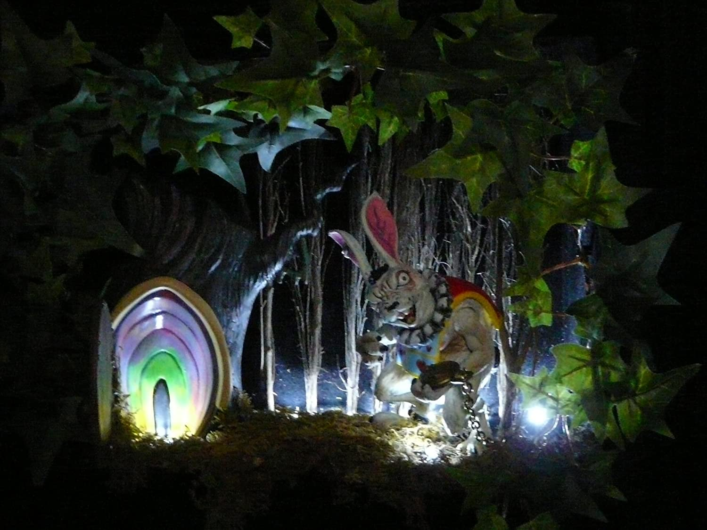 Amazon.com Alice in Wonderland Horror Diorama Everything Else