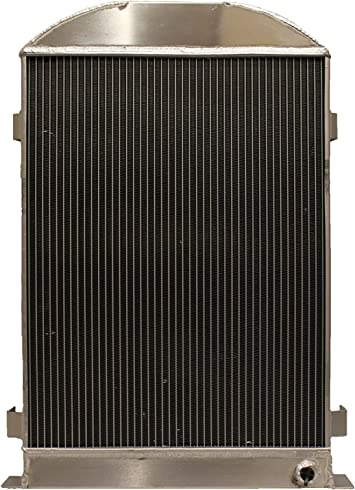 56mm aluminum radiator for Ford Model A W//Ford 302 V8 AUTO 1928-1929 28 29