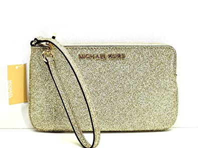 f5ed01b2dcfa Image Unavailable. Image not available for. Color: Michael Kors Large Top  Zip Wristlet Clutch Handbag ...