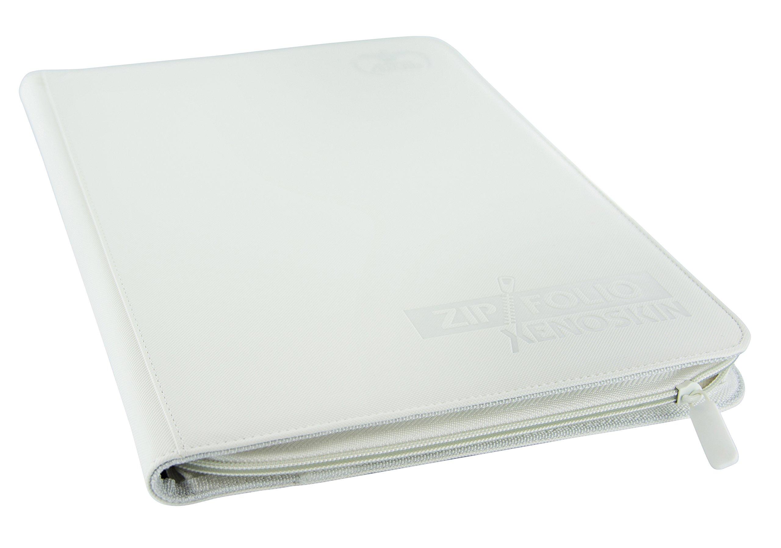 Ultimate Guard 9 Pocket XenoSkin Zipfolio, White