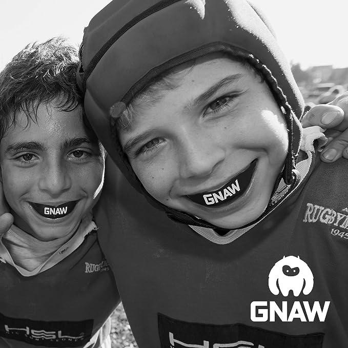 Taekwondo Prot/ège-dents//prot/ège-gencives GNAW pour enfant pour rugby MMA Jitsu karat/é Muay Thai et tous les sports de contact hockey