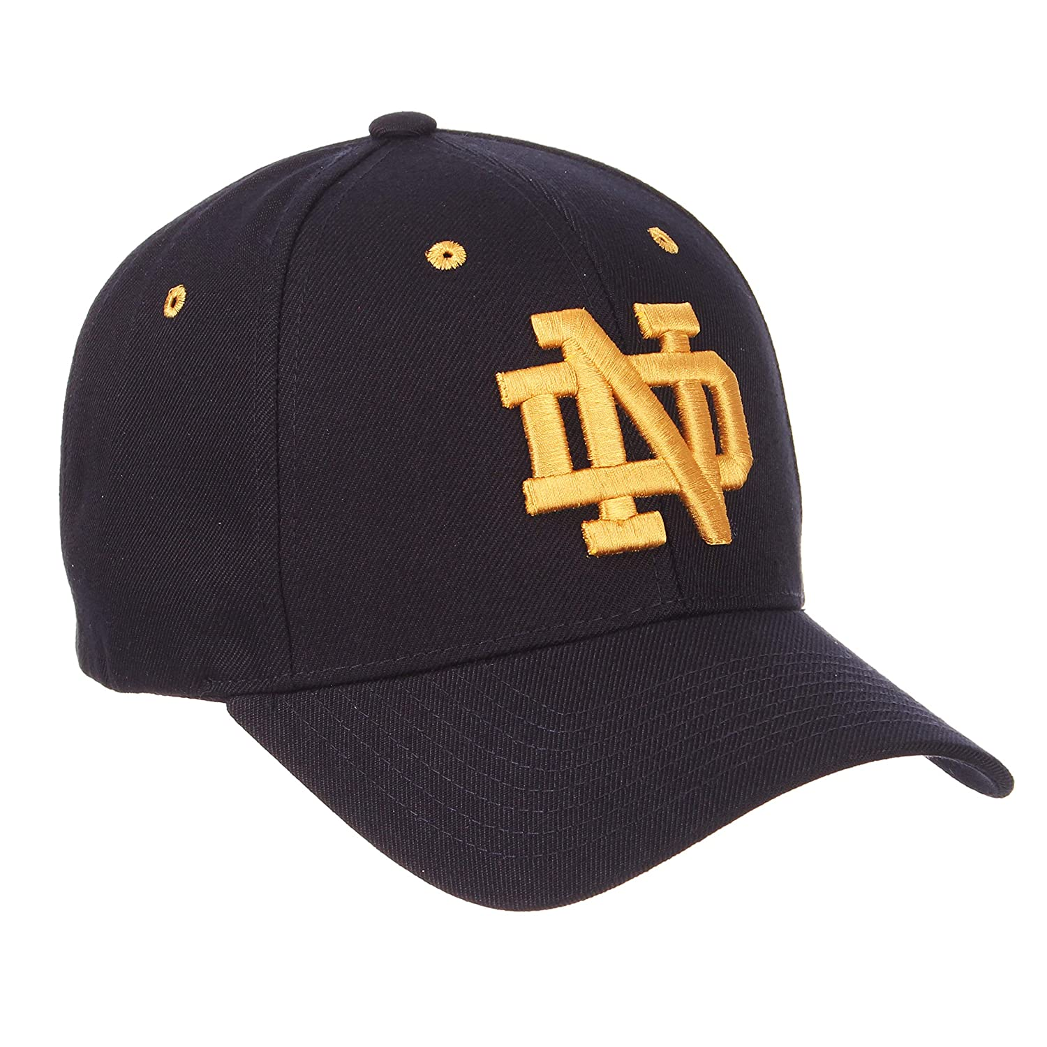 ZHATS University of Notre Dame ND Fighting Irish Blue Competitor DH Plastic Snapback Baseball Hat//Cap Size Adjustable