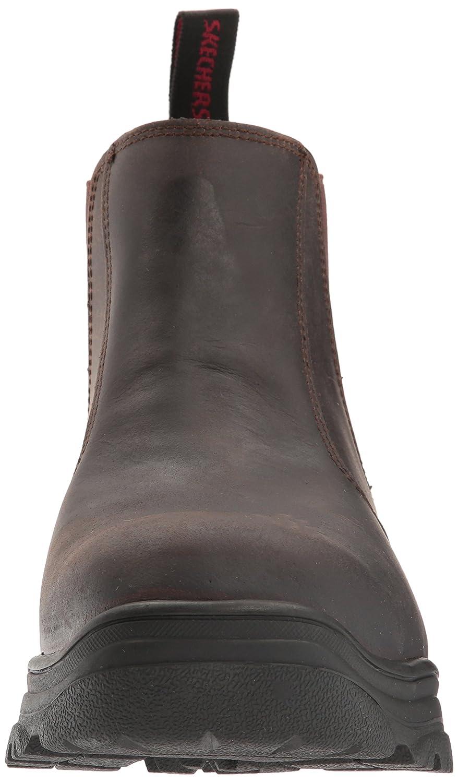 Skechers Skechers Skechers For Work Men's burgin Glennert Work Stiefel,Dark braun,14 M US 3160ff