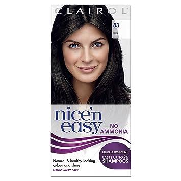 Clairol Nice\'n Easy Semi-Permanent Hair Dye No Ammonia 83 Natural ...