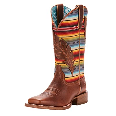 ARIAT Women's Circuit Feather Western Boot | Mid-Calf