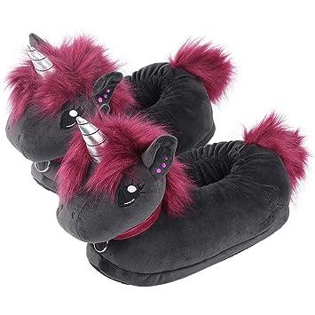 corimori Ruby el Unicornio Punk Zapatillas De Casa Niños Talla Única 34-44, Color