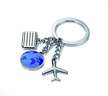 Amazon.com: Troika weltenblummer Travel Charms llavero ...